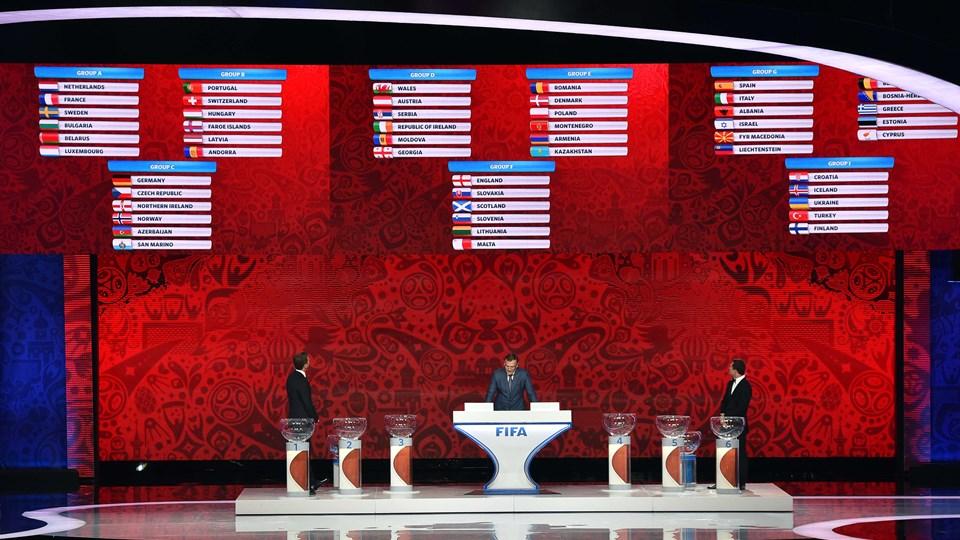 qualificazioni mondiali Russia 2018